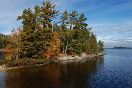 Fall colors - Voyageurs National Park - Lake Namakan